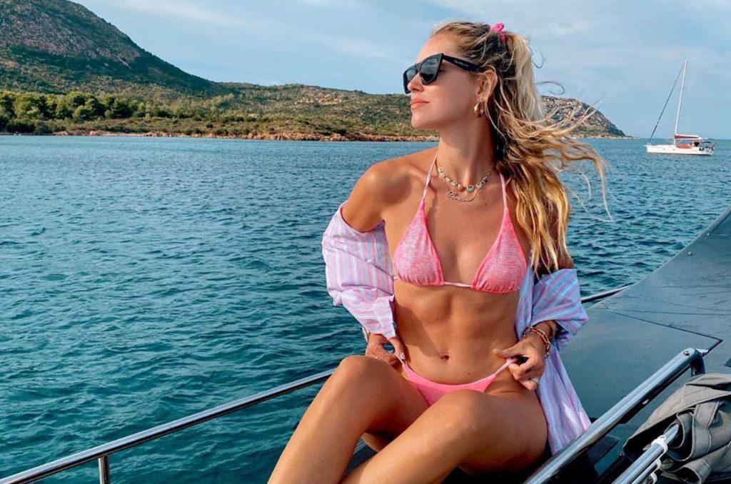 Chiara Ferragni bikini Sardegna