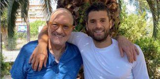 Antonio Candreva e il padre Marcello Candreva