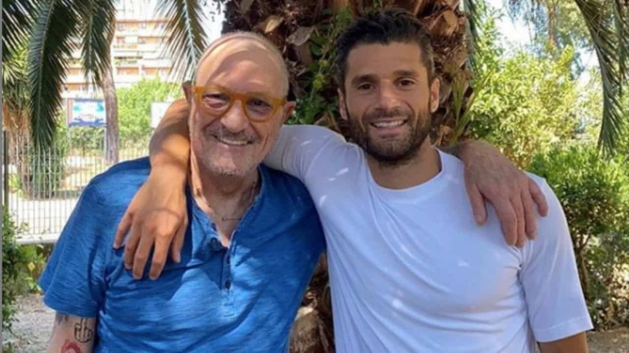 Antonio Candreva e il padre Marcello Candreva