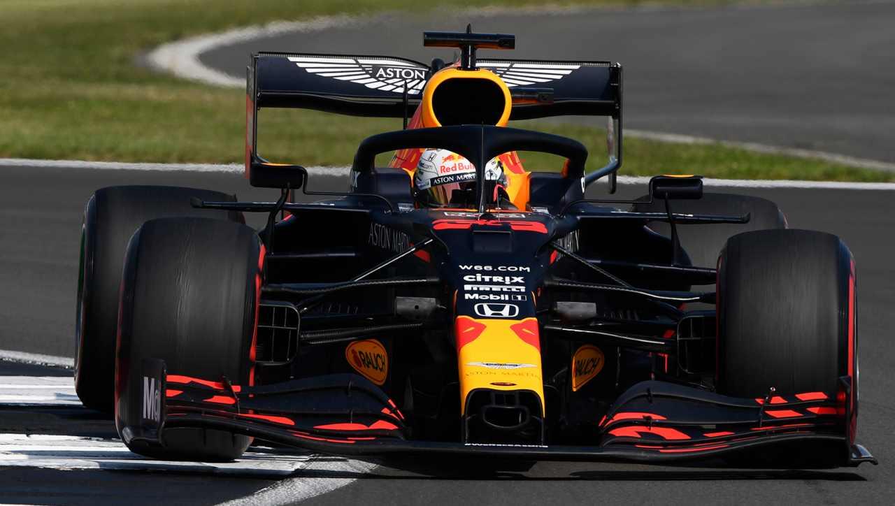 Formula 1 Silverstone Verstappen