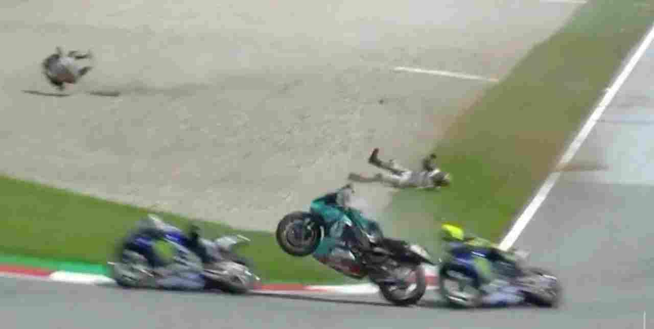 MotoGp incidente Morbidelli Zarco
