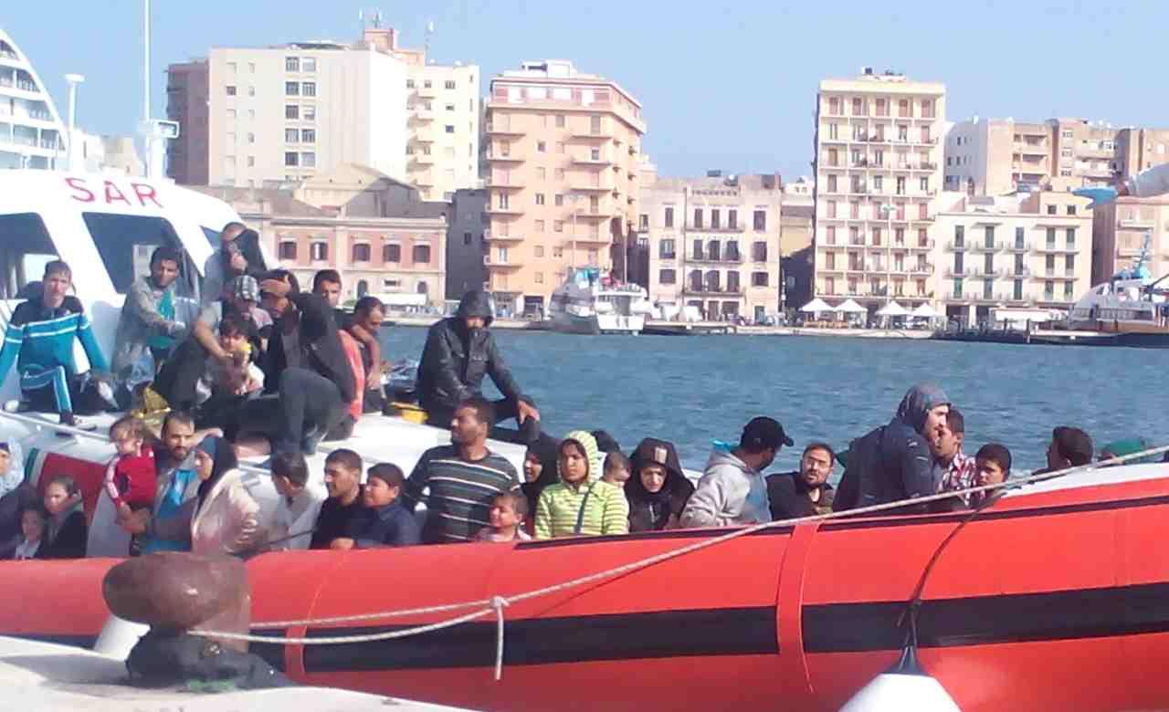 Trasferimento Migranti Lampedusa