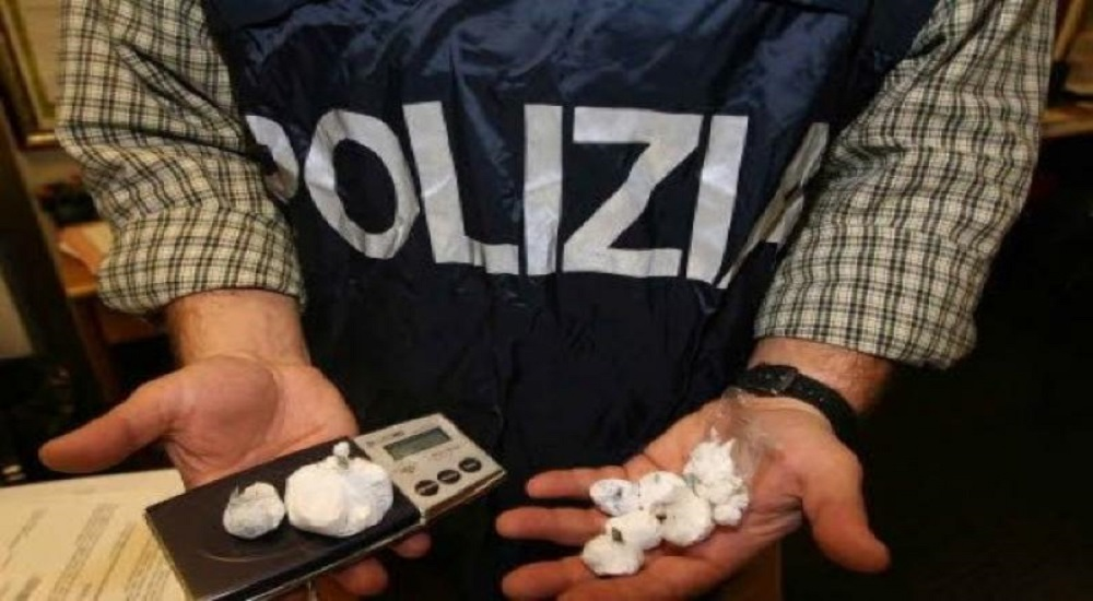 Cocaina albanesi Blancos Polizia