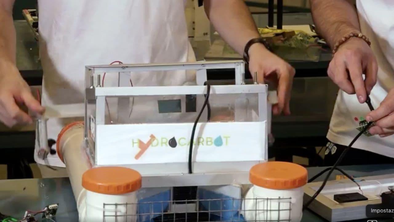 hydrocarbot robot che pulisce i mari