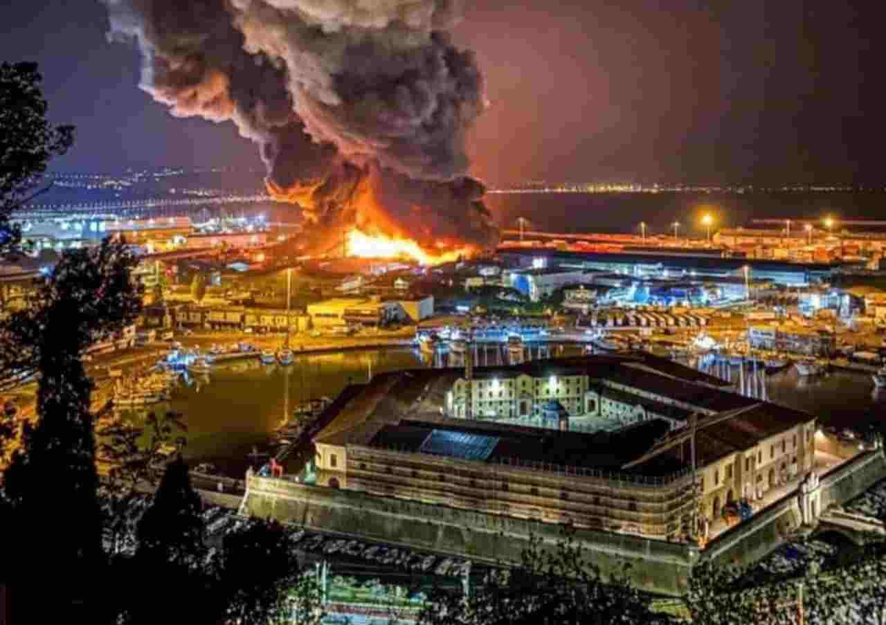 Incendio Ancona Mancinelli
