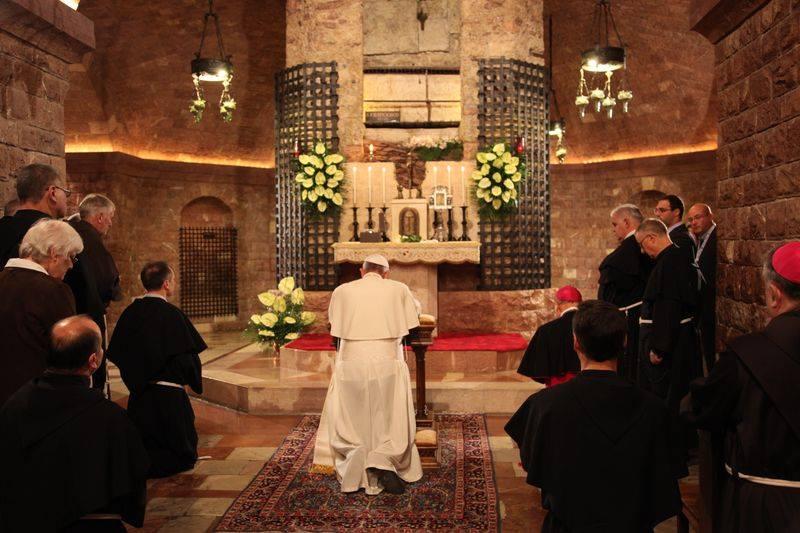 Papa Francesco Enciclica Assisi