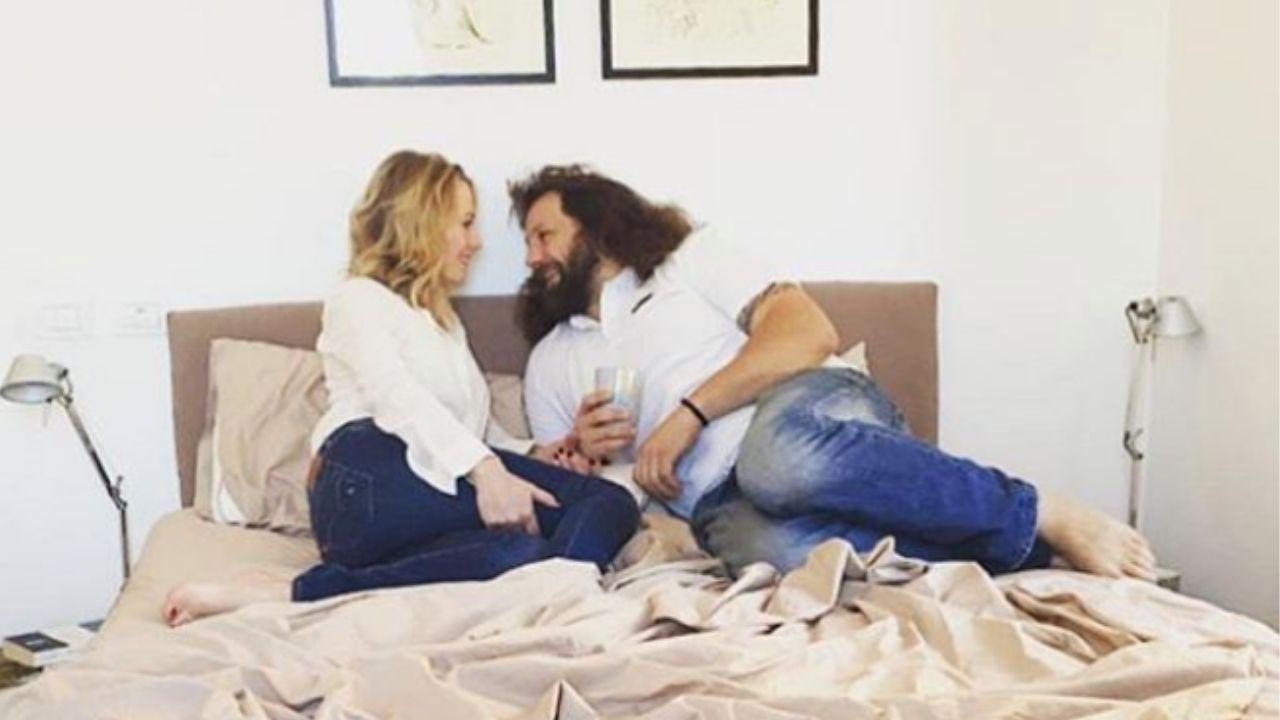 Martin Castrogiovanni e Daniela Marzulli