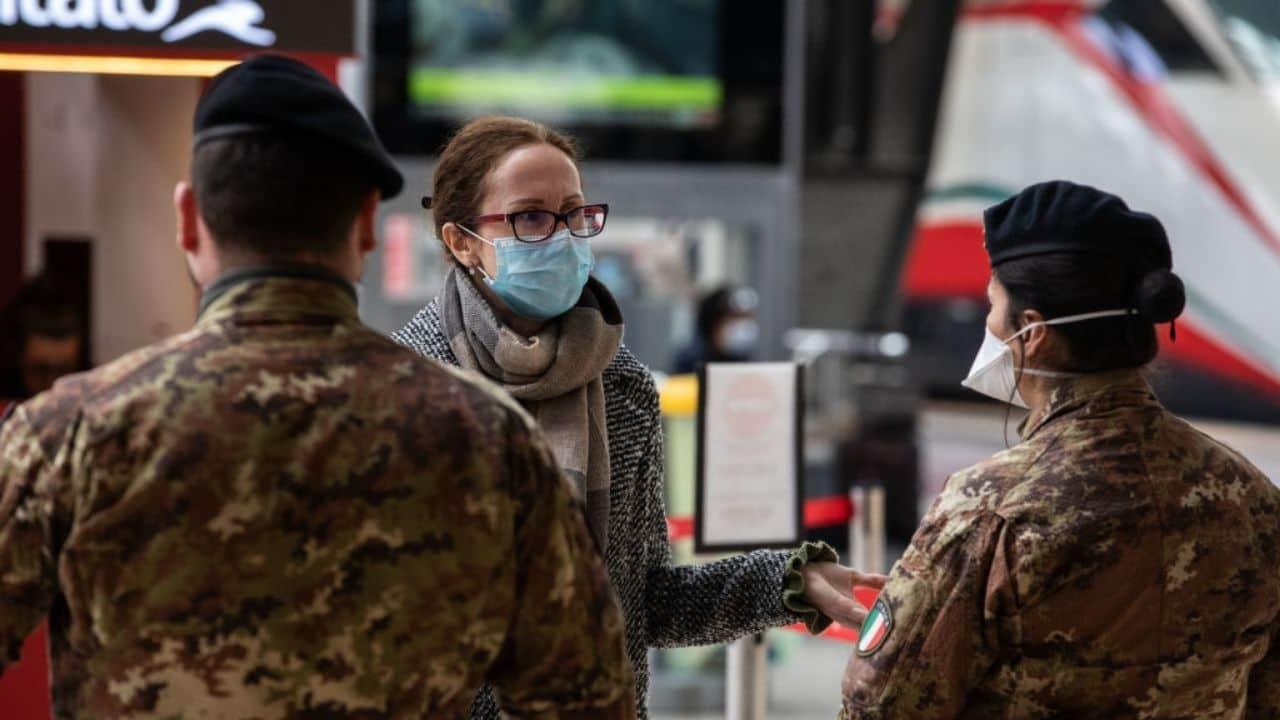 Esercito italiano Coronavirus