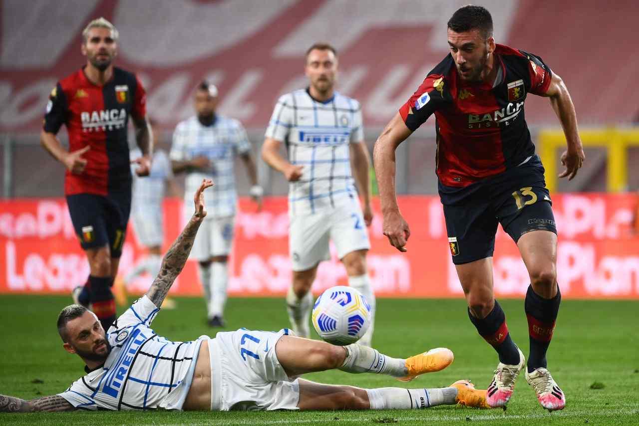 Genoa Inter highlights