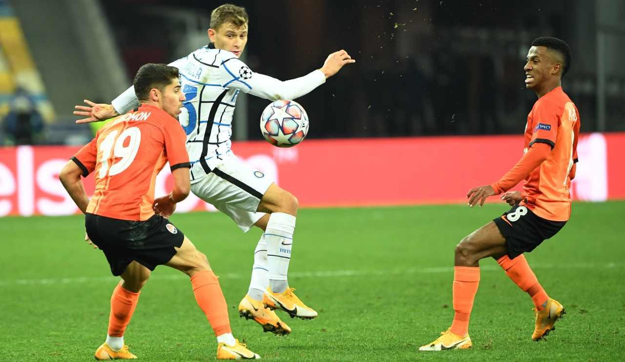 Shakhtar Inter Tabellino Highlights