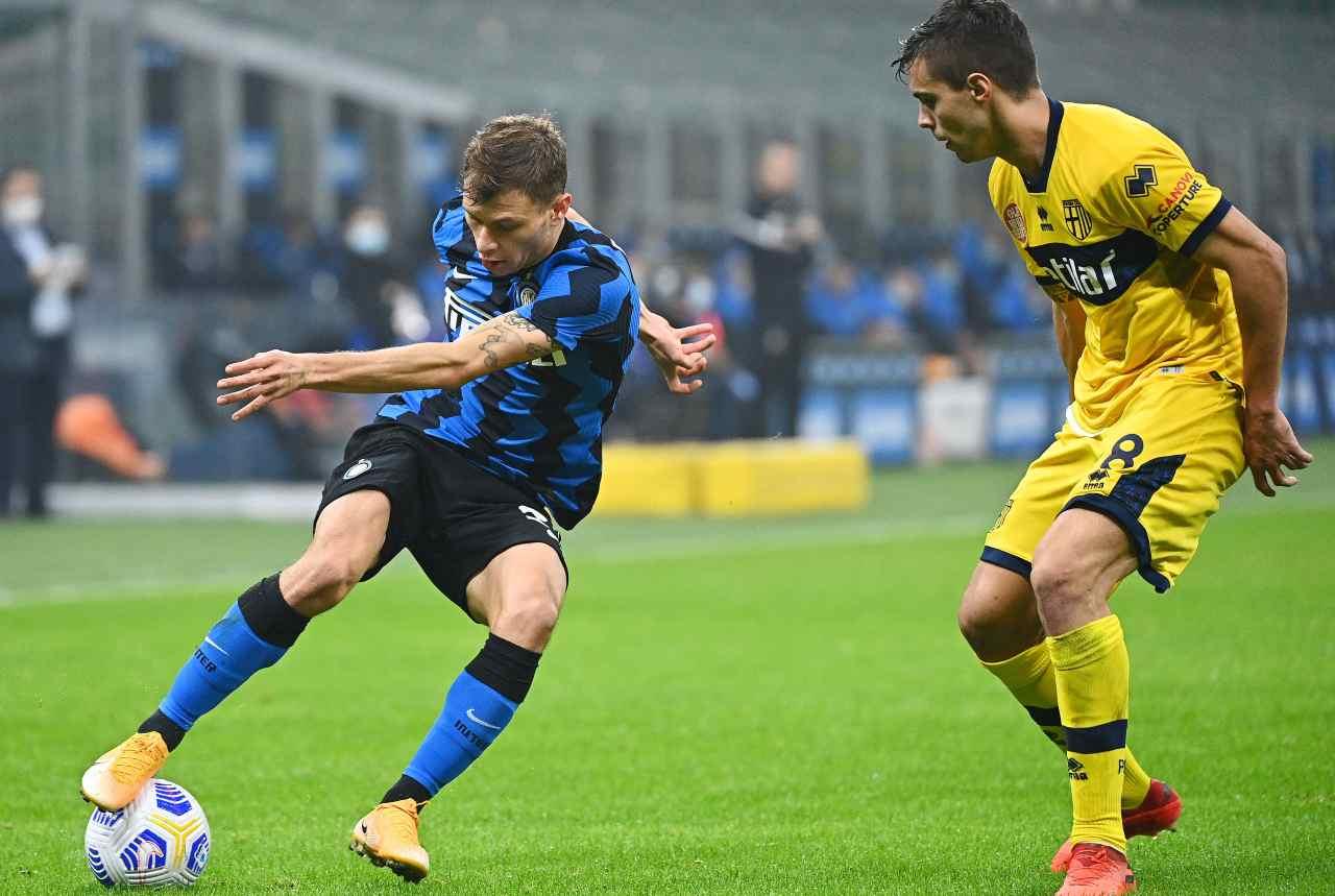 Inter Parma Tabellino Highlights