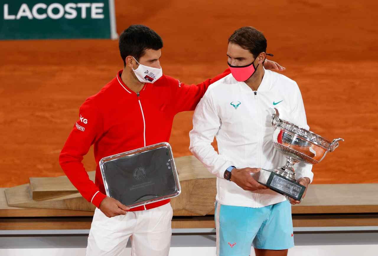 Nadal Djokovic Roland Garros