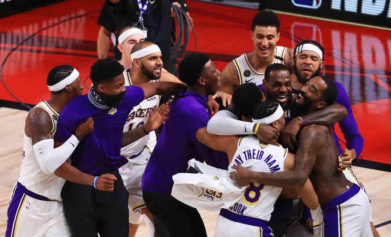 NBA Lakers LeBron James