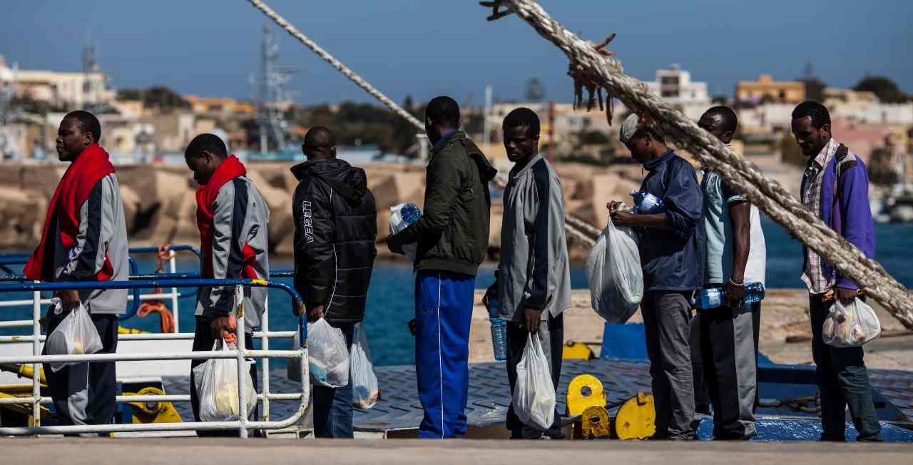 Nizza Brahim Aoussaoui Lampedusa