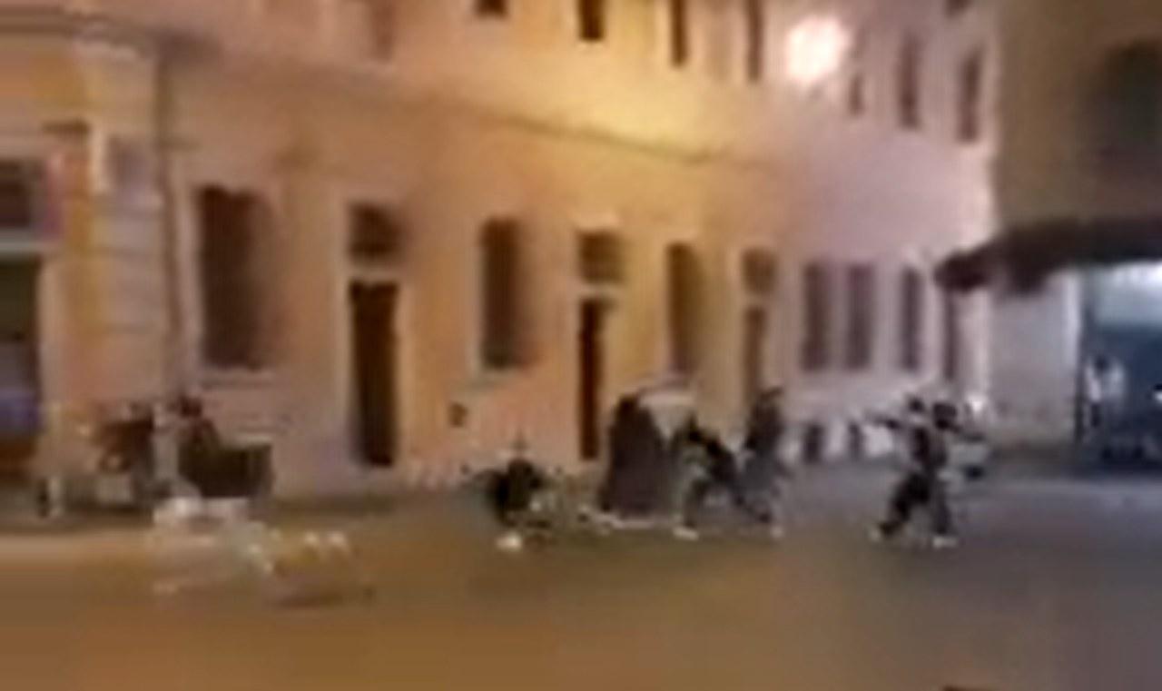 Video sparatoria Reggio Emili