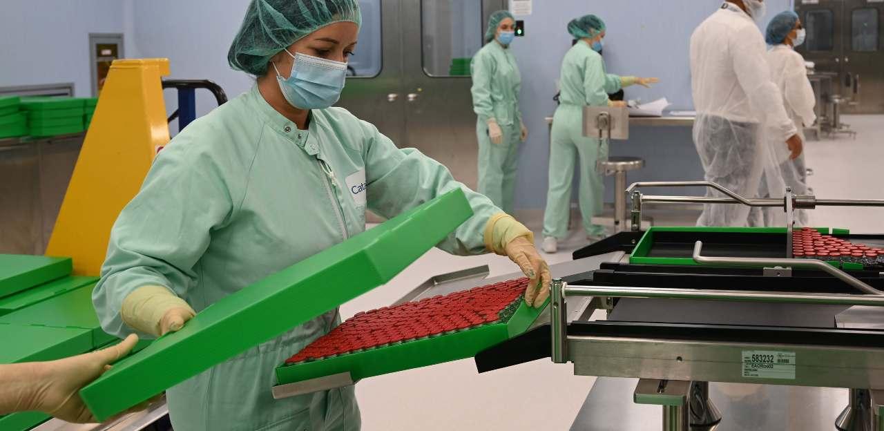 Distribuzione vaccino Pfizer Coronavirus