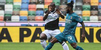 Udinese Milan Tabellino Highlights