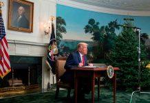 Donald Trump lascia Casa Bianca