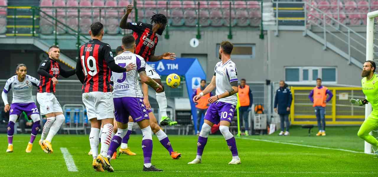 Milan Fiorentina Tabellino Highlights