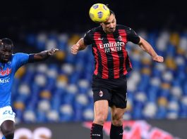 Napoli Milan Tabellino Highlights