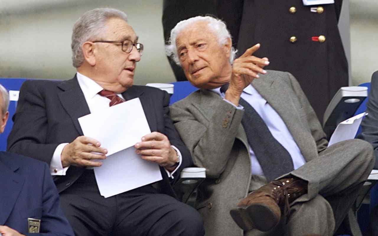 Kissinger e Agnelli