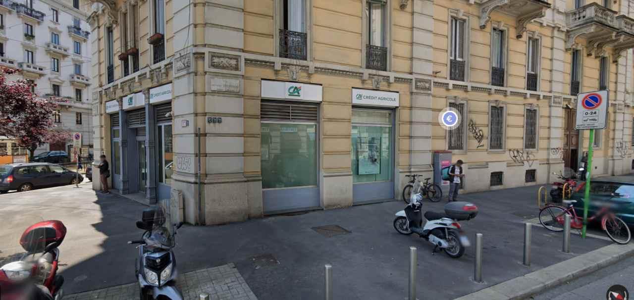 Rapina Credit Agricole Milano