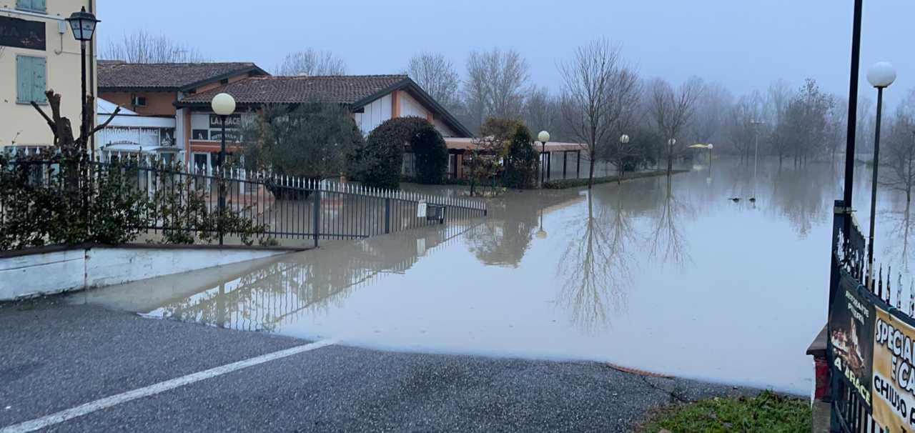 Esondazione Panaro Castelfranco Nonantola