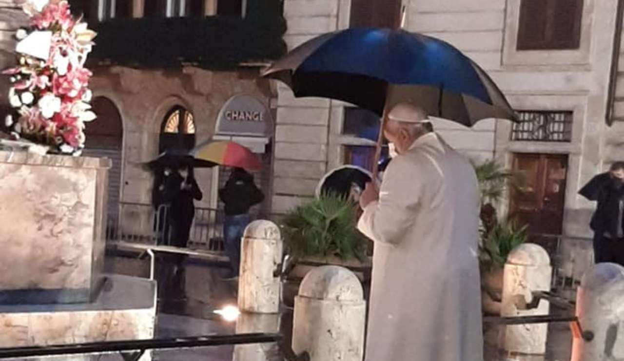 Immacolata Papa Piazza Spagna
