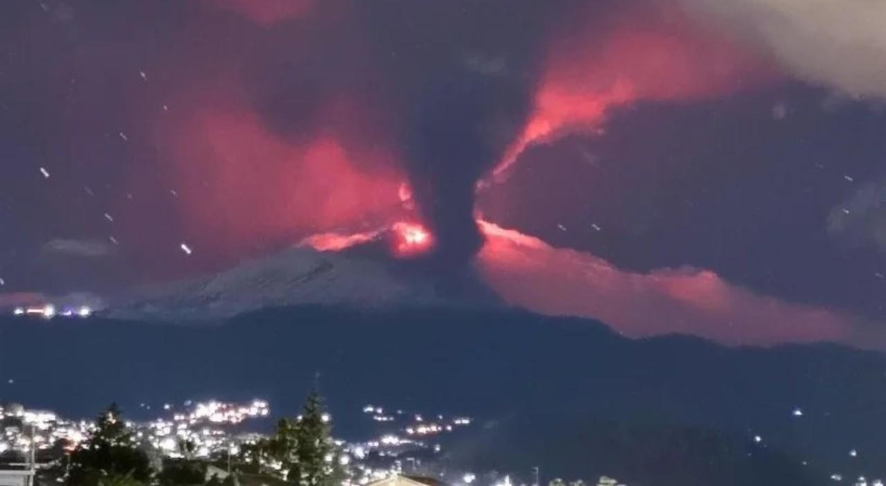Video Eruzione Etna