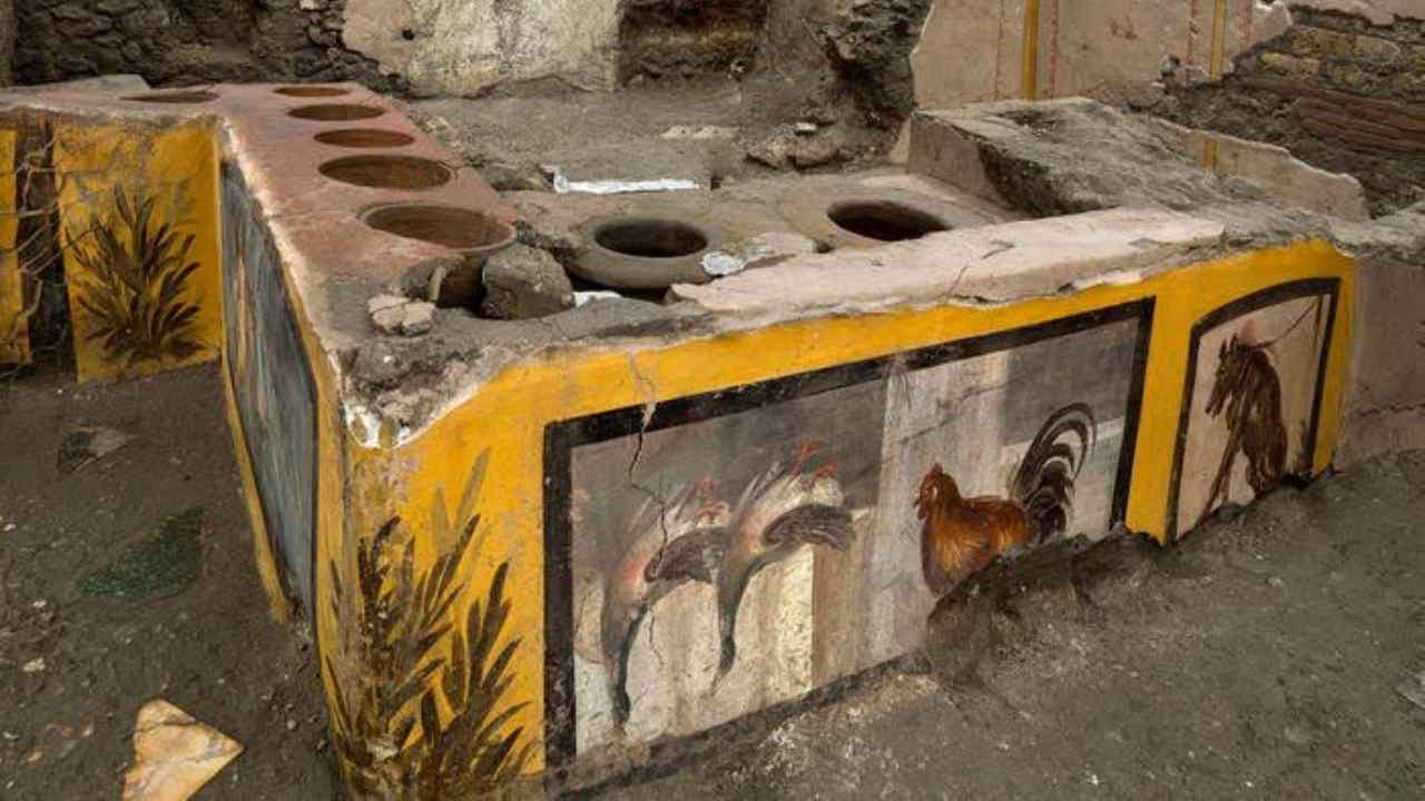 Cos'è Termopolio Pompei