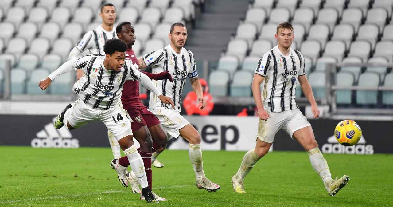 Torino Juventus Tabellino Highlights