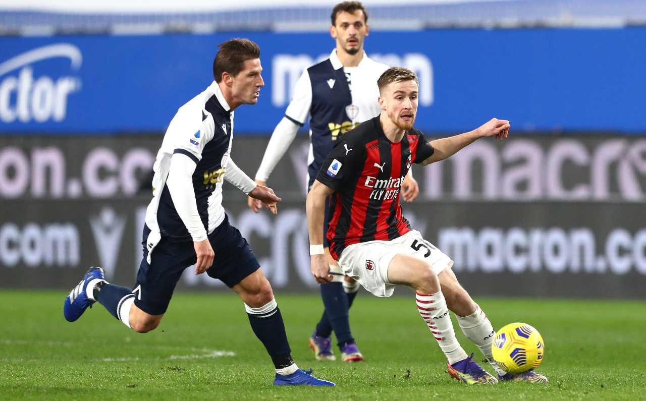 Sampdoria Milan Tabellino Highlights