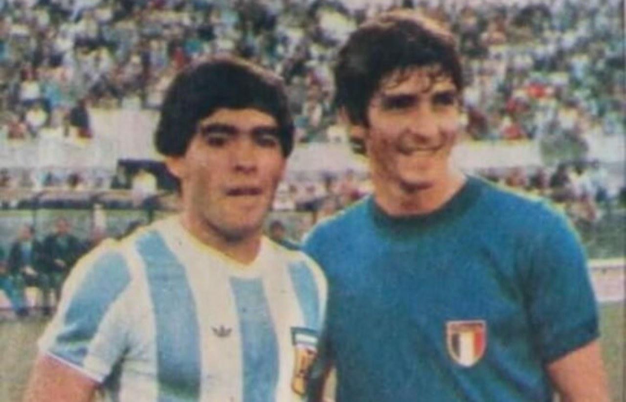 Italia Argentina Rossi Maradona