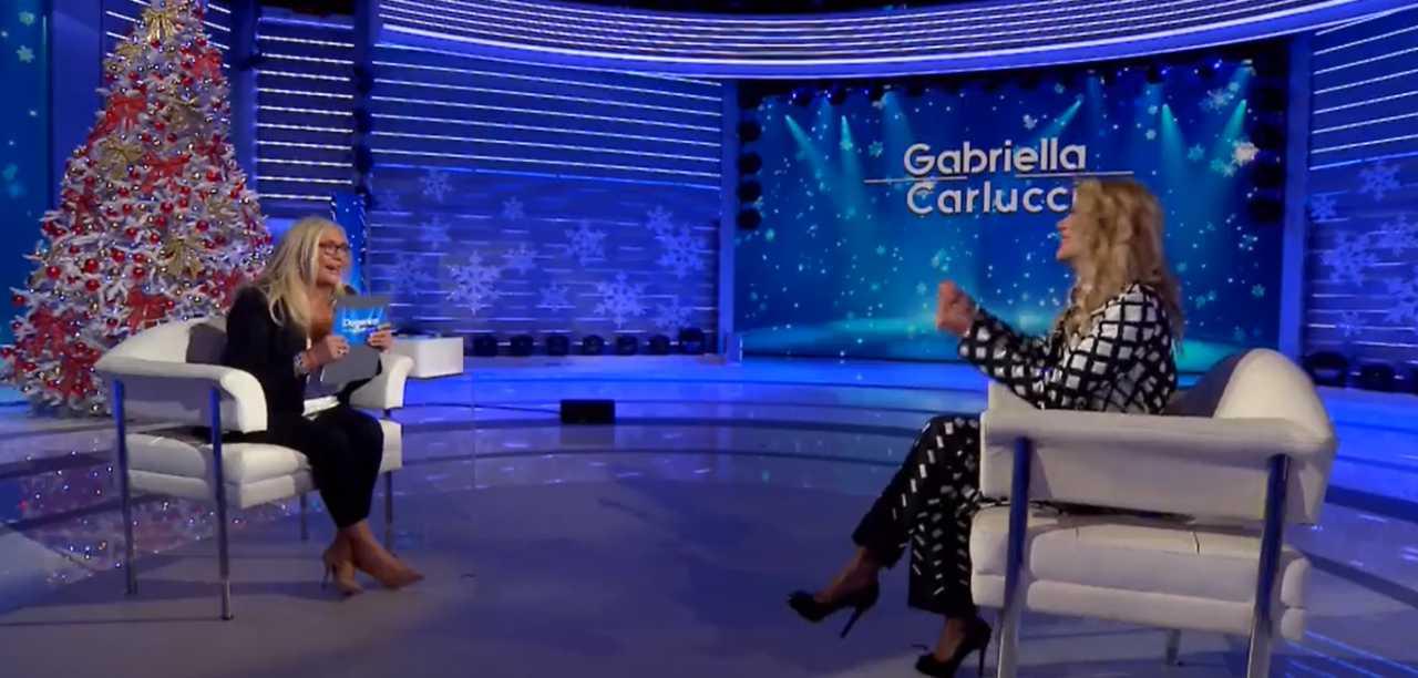 Mara Venier Gabriella Carlucci