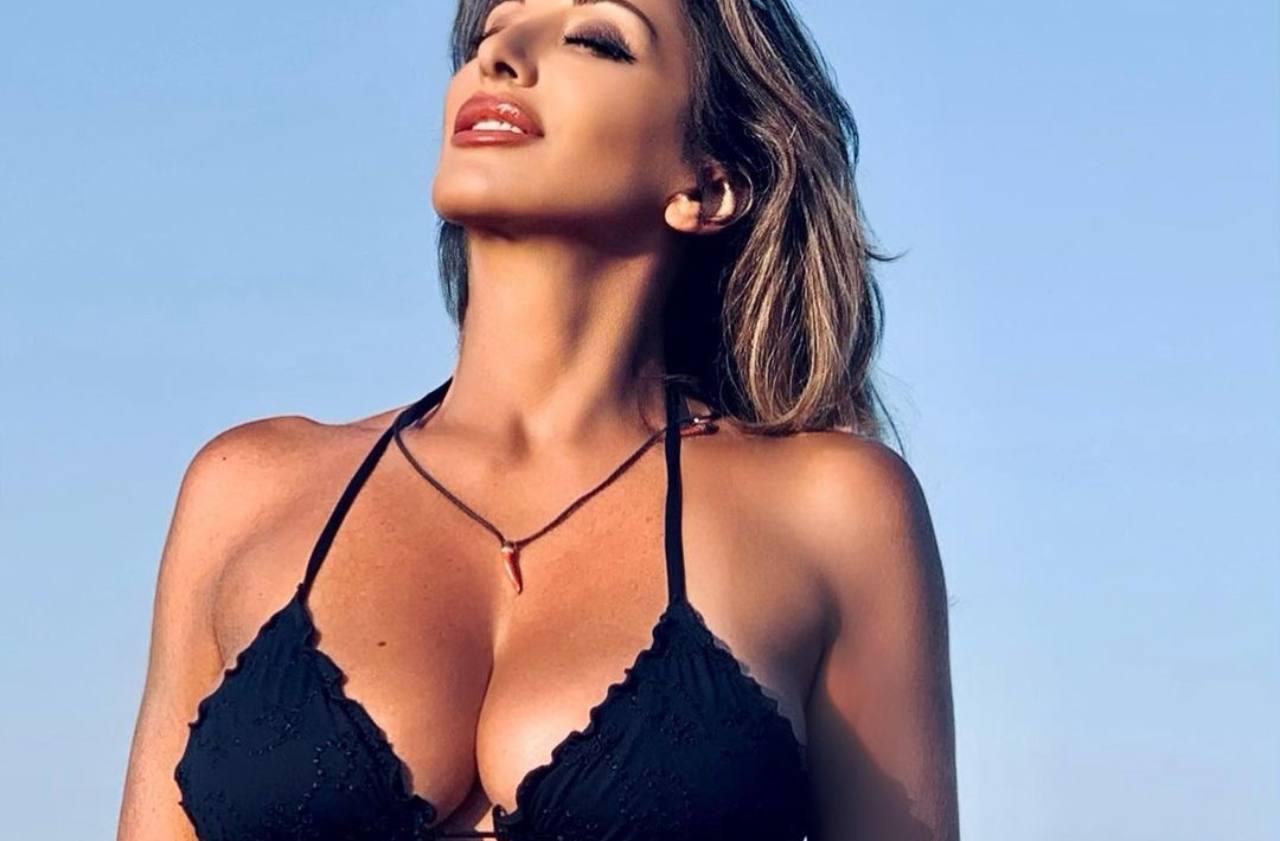 Sabrina Salerno Capodanno bikini