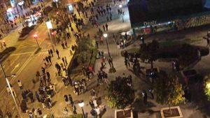 terremoto a granada, gente in strada