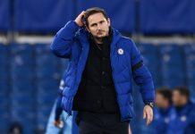 Frank Lampard in primo piano dopo la sconfitta con il Manchester City