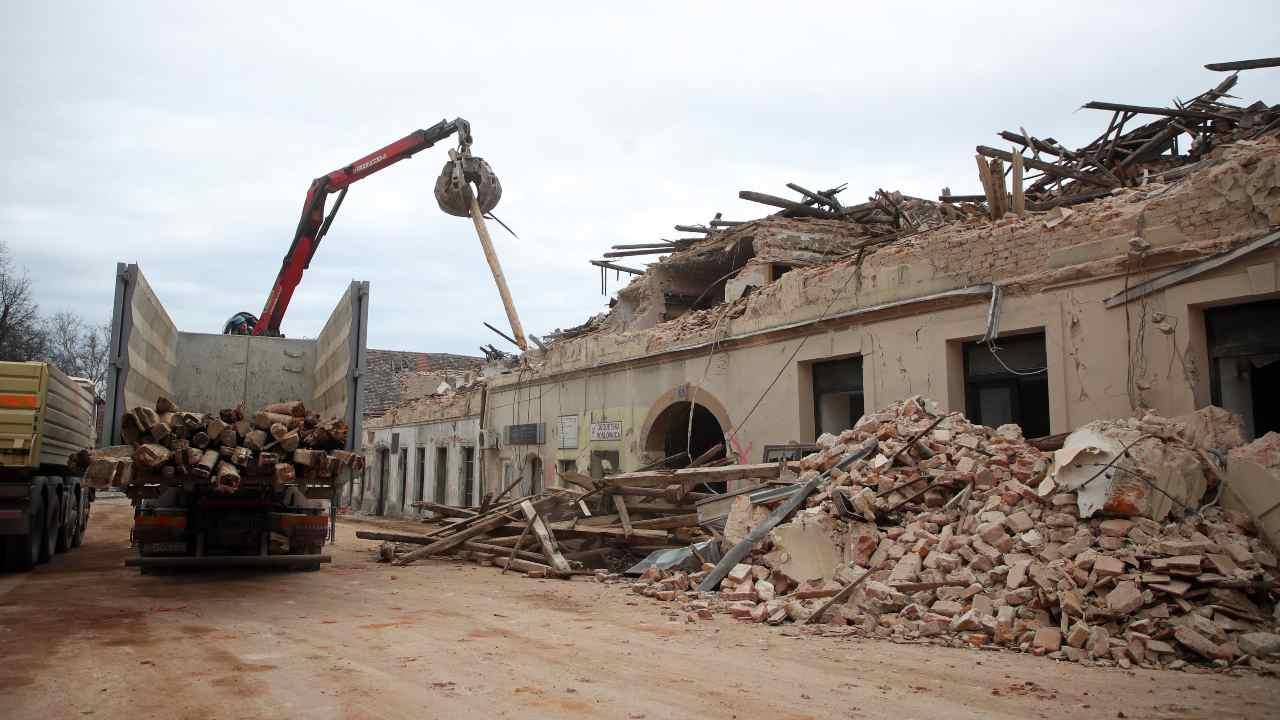 Terremoto Croazia Zagabria Petrinja