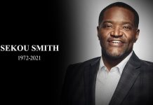 Primo piano di Sekou Smith 1972-2021