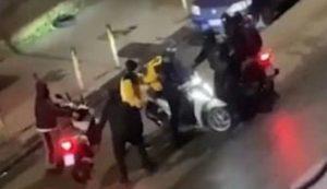 napoli, scooter rubato a rider: partita raccolta fondi