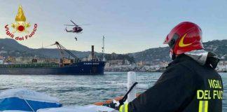 Incidente sul lavoro a Santa Margherita Ligure: grave un operaio