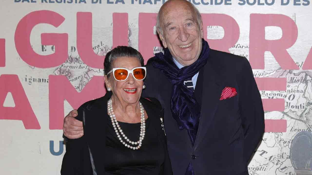 Giuliano Montaldo e Vera, una coppia dall'amore infinito