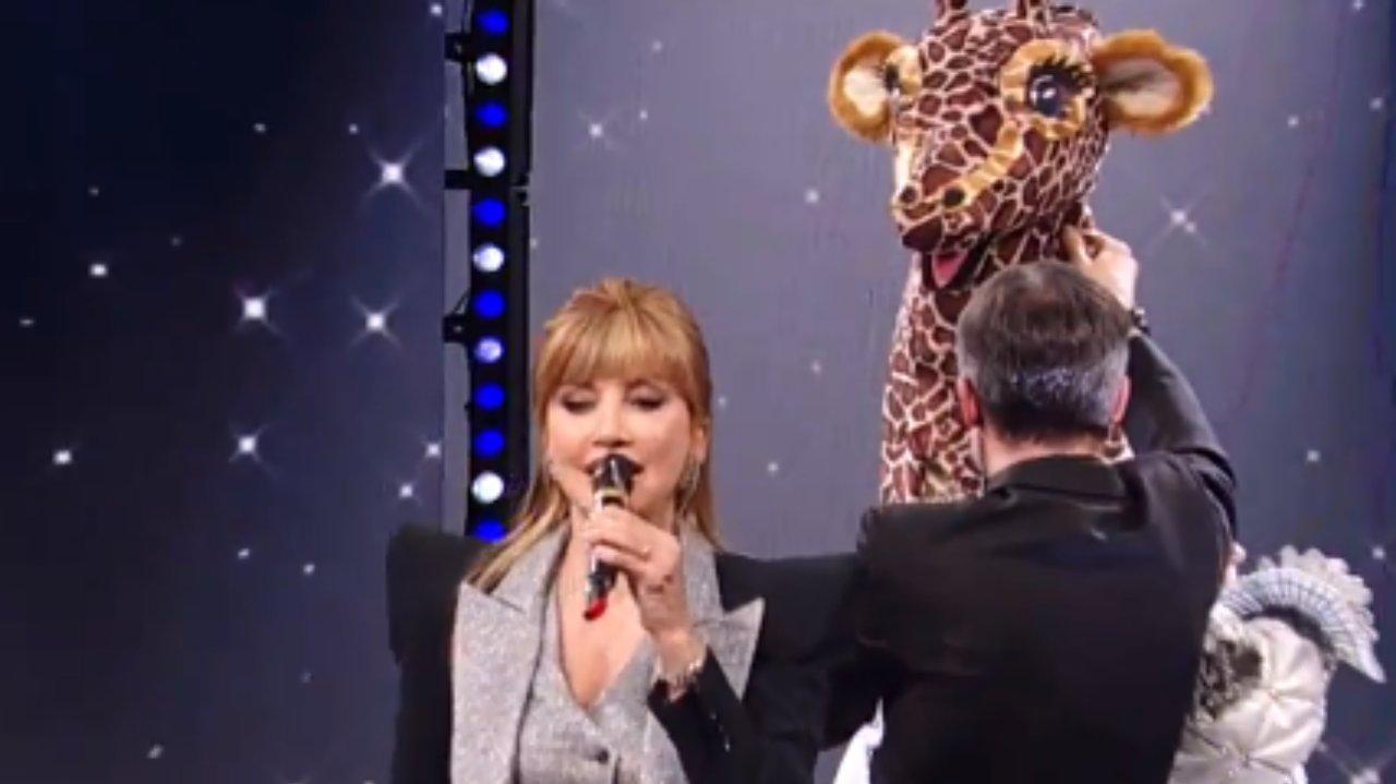 Katia Ricciarelli Giraffa Platinette Tigre Azzurra