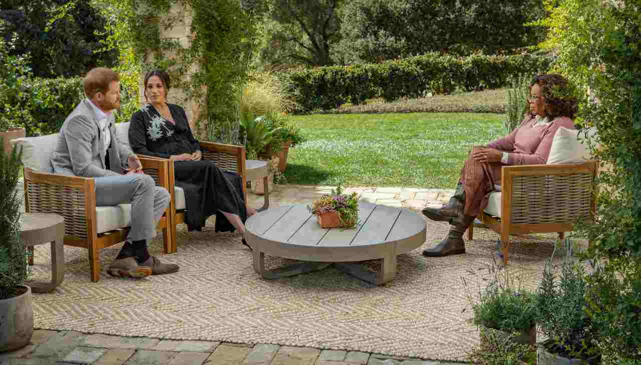 video intervista Oprah Winfrey Harry Meghan