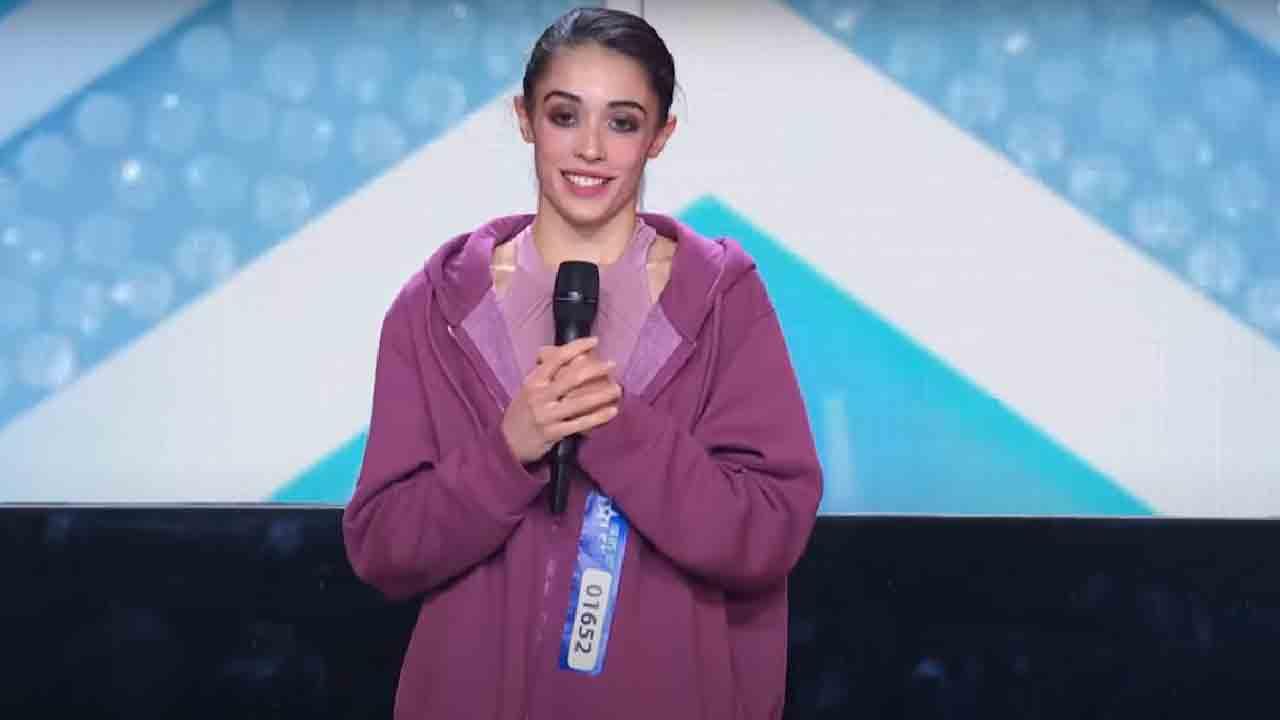 Martina Storti, chi è la pole dancer finalista di Italia's Got Talent 2021 (Screenshot)
