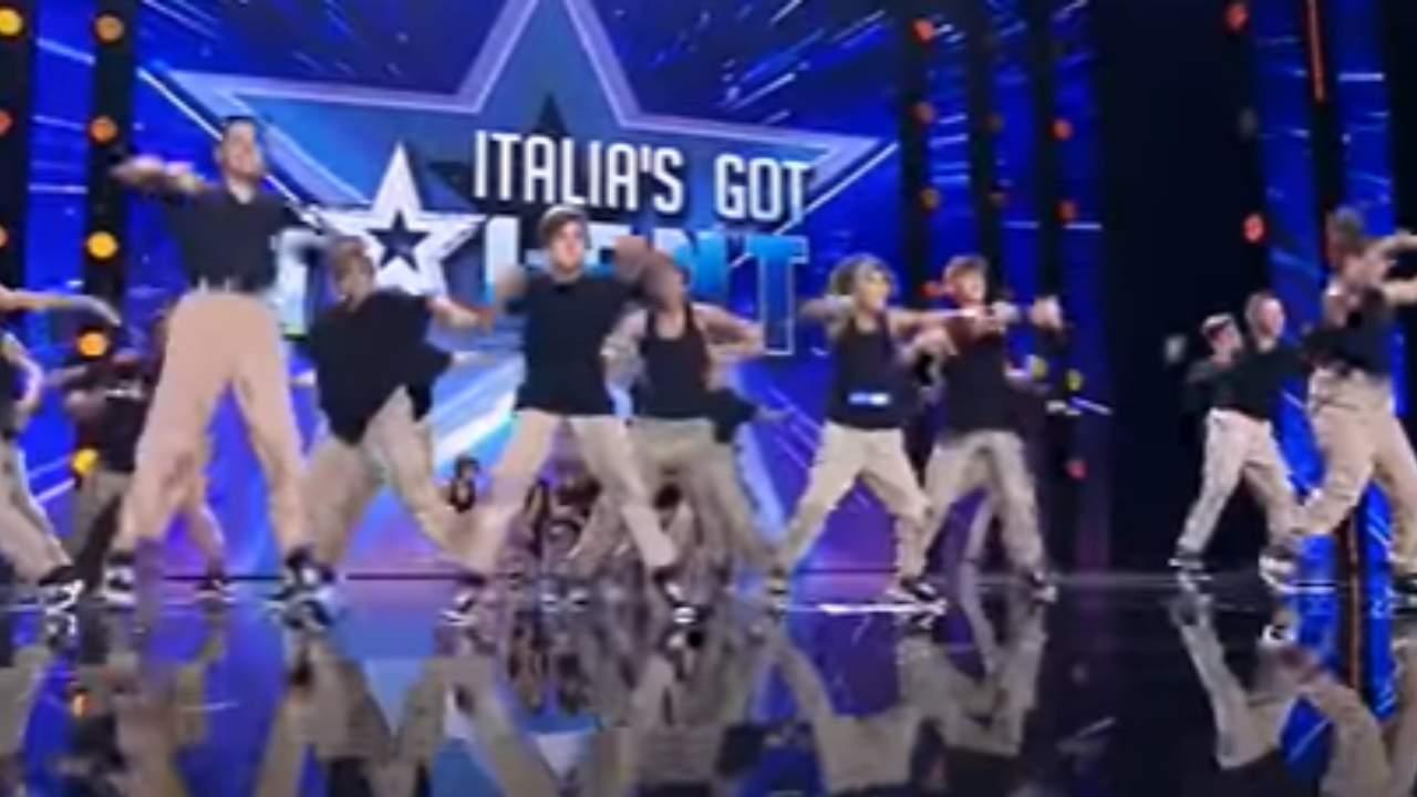 Italia's got talent 2021 Shot's Bounce Academy