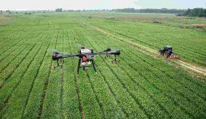 droni e software per l'agricoltura