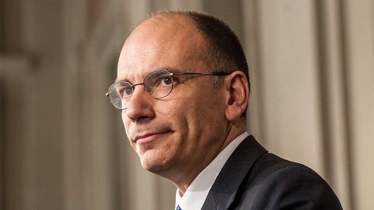 enrico letta annuncia la candidatura alla segreteria del pd