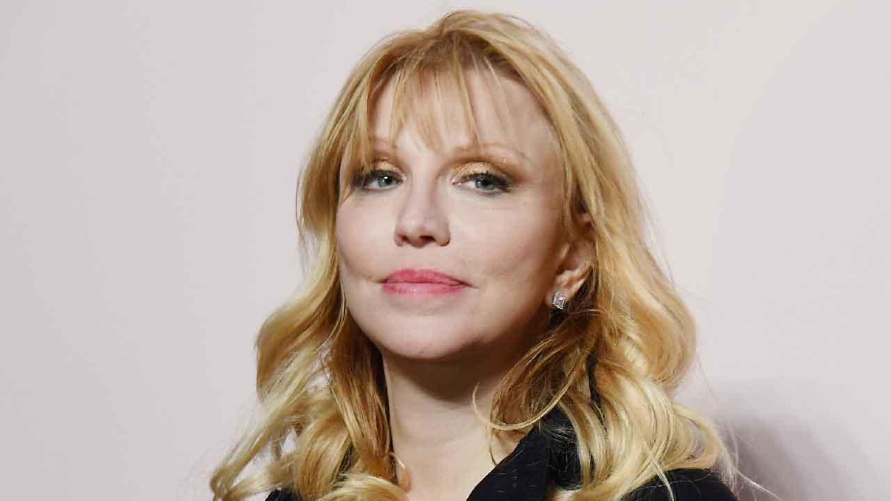 Courtney Love, chi è la moglie del frontman Kurt Cobain (Getty Images)