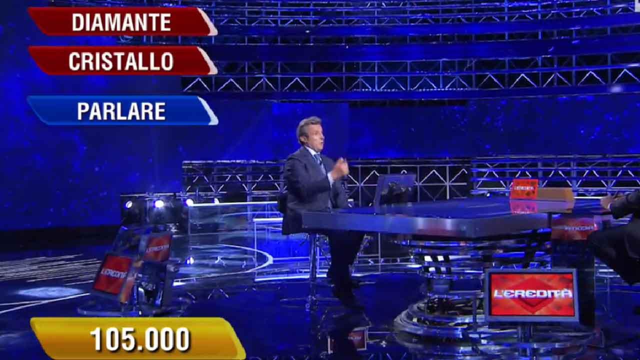 L'Eredità, l'ultima parola nella Ghigliottina ha fatto infuriare i fan (RaiPlay)